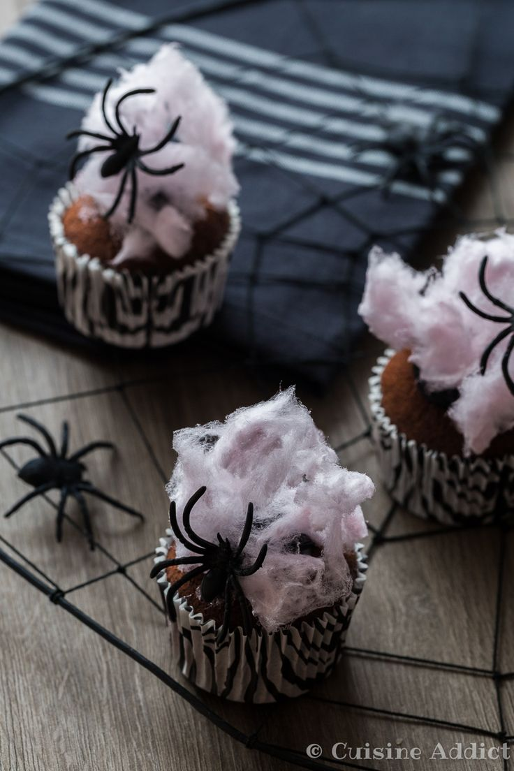 cupcakes choco coco toile d araign 233 e cuisine addict