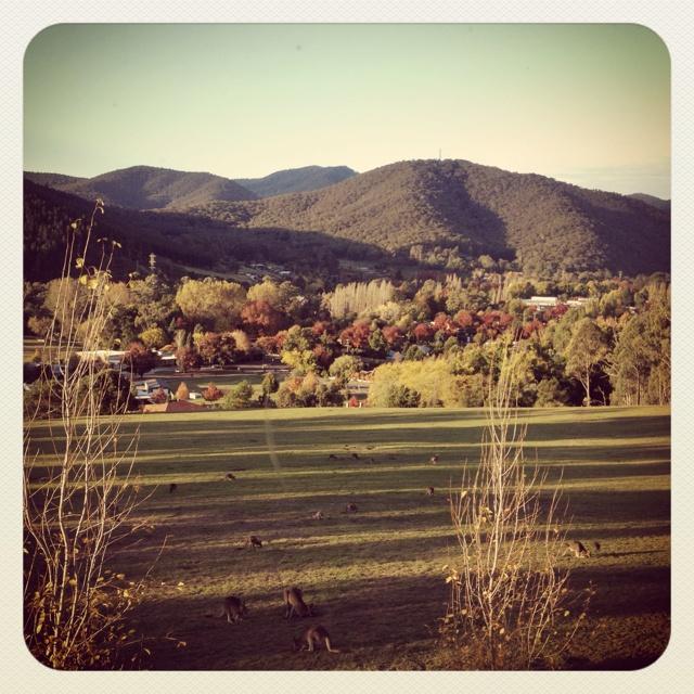 Bright, Victoria Australia. April 2012 - stunning