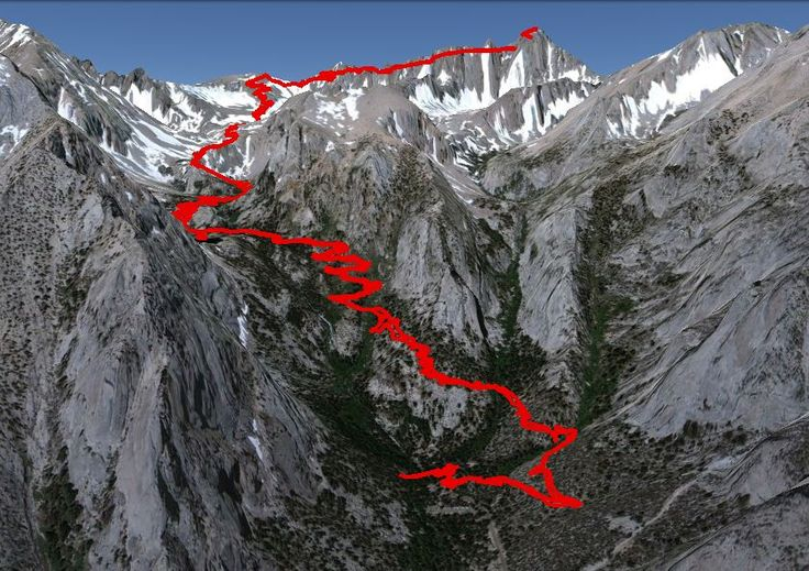 Mount Whitney Hiking Trail | Hiking Mt Whitney: Tallest Mountain in the Lower 48 States