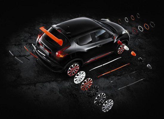 Nissan Juke: questioni di personalizzazione  Nuovi pacchetti Style, Premium ed Exclusive. Incentivata loccasione per rispondere alle richieste della clientela che chiede un carattere secondo i gusti ambiti per il proprio esemplare, il nuovo programma di personalizzazione creato per la Nissan Juke offre...