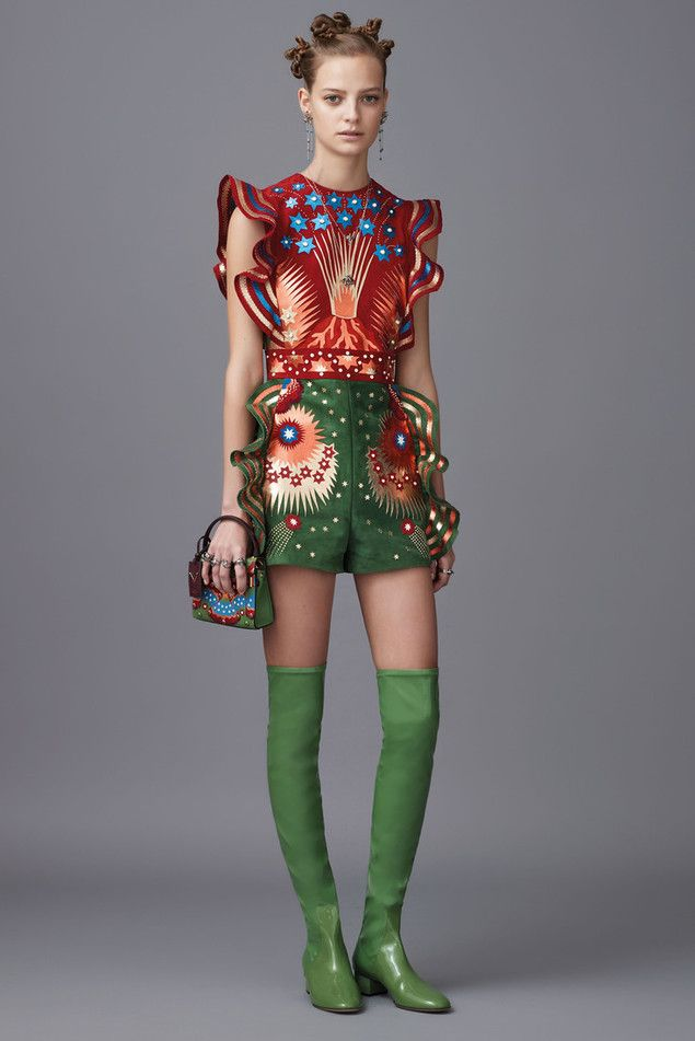 Восточная тема в коллекции итальянского дома Valentino Pre-Fall 2016 - Ярмарка Мастеров - ручная работа, handmade