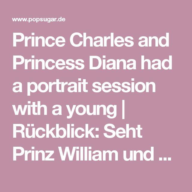 Prince Charles and Princess Diana had a portrait session with a young   Rückblick: Seht Prinz William und Kate Middleton als Kinder!   POPSUGAR Deutschland Stars Photo 12