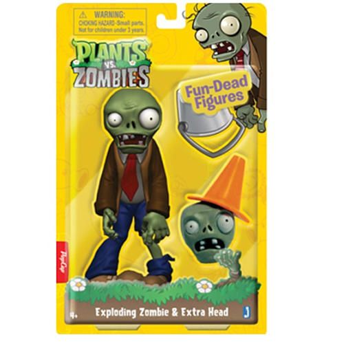Zombie Toys R Us : Plants vs zombies exploding zombie quot jazwares inc