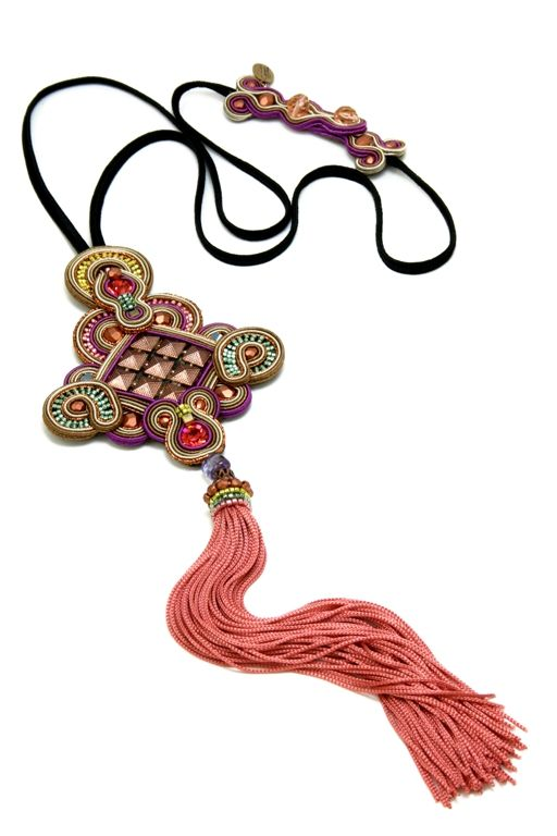 Forever a little Rock 'n' Roll, fringes have been adding a playful kick to Dori's creations. The Harper necklace fuses the metallic trend with fringe creating a stylish look that could easily pump up a basic outfit and make it look fabulous! #fringe #DoriCsengeri #ss2014