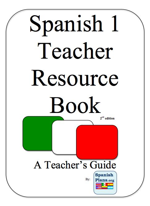 15 best 9th grade spanish 1 images on pinterest spanish classroom spanish1teacherbook fandeluxe Choice Image