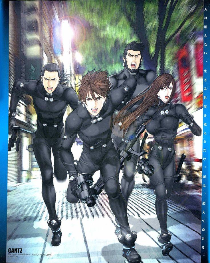 生存游戏的经典 奥浩哉《杀戮都市》全3DCG动画电影制作决定! 卖萌 Anime, Animes manga
