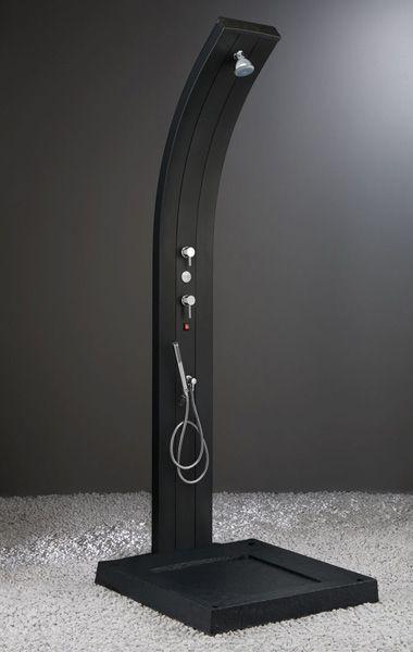 Solar Powered Shower - heated solar shower by Arkema