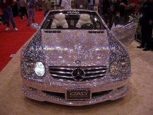 Design » Glitter SpotLight: Pink Mercedes500 x 375 | 57.6KB | www.luuux.com