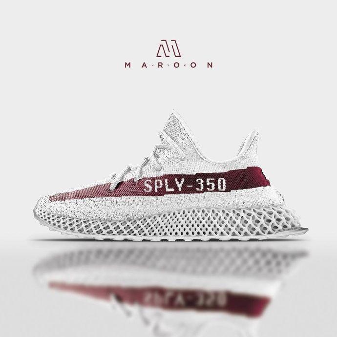 Yeezy 350 4D in 2020 | Discount shoes