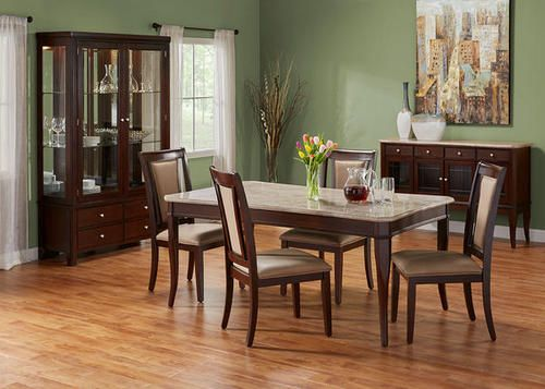 Add A Touch Of Warm Neutrals To Your Dining Room With This Set From The RoomPlace In Chicago And Indianapolis