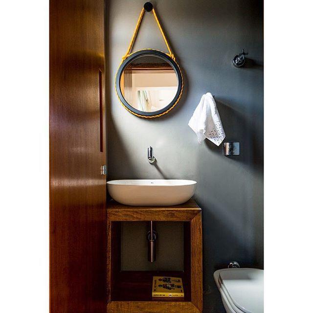 decoracao banheiro faca voce mesmo:Madeira, Interior do banheiro and Faça você mesmo on Pinterest
