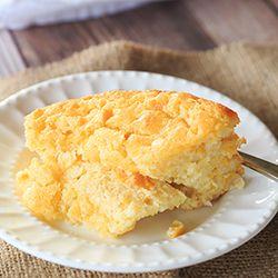 Sweet Corn Spoon Bread | Brown Eyed Baker