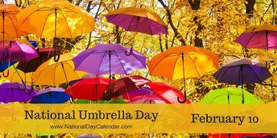 Some inventions endure the test of time. Some are improved over time, and some remain about the same as when they were first created. NationalUmbrellaDay