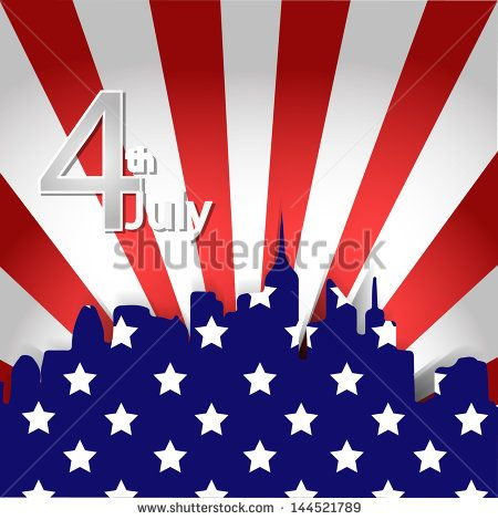 American Independence Day 4th illustration of city of American flag backdrop  Image ID:144521789 Copyright: xtremelife usa, fact, america, town, flag, national, july, white, campaign, red, day, vector, unique, holiday, symbol, history, democratic, star, liberty,united, pride, creative, nation, illustration, new york, states, design, city, blue, 4th, patriotic, independence, fourth, election, country, banner, patriotism, stripe, background, pattern, 4, patriot, memorial, american, republic