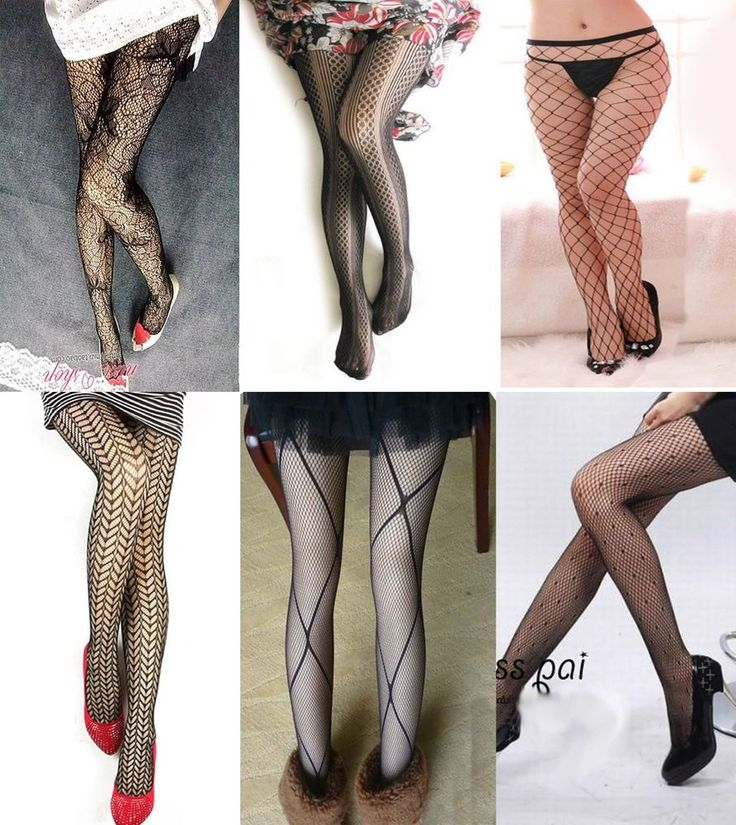 6 Pairs Of Varieties Design New Sexy Stockings Elegant Sexy Women Pantyhose #XingHong #Pantyhose