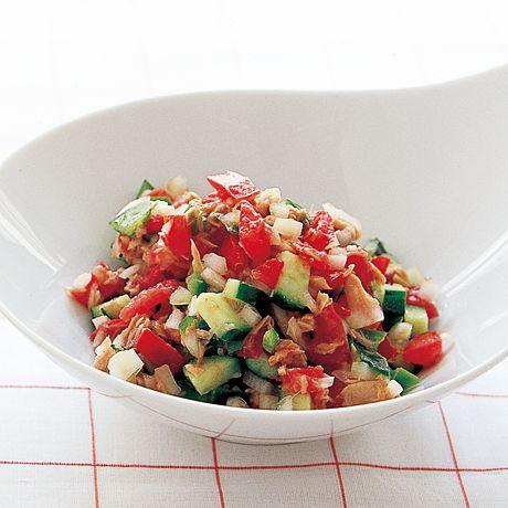 ツナトマトサラダ | 丸山久美さんのサラダの料理レシピ | プロの簡単料理レシピはレタスクラブニュース