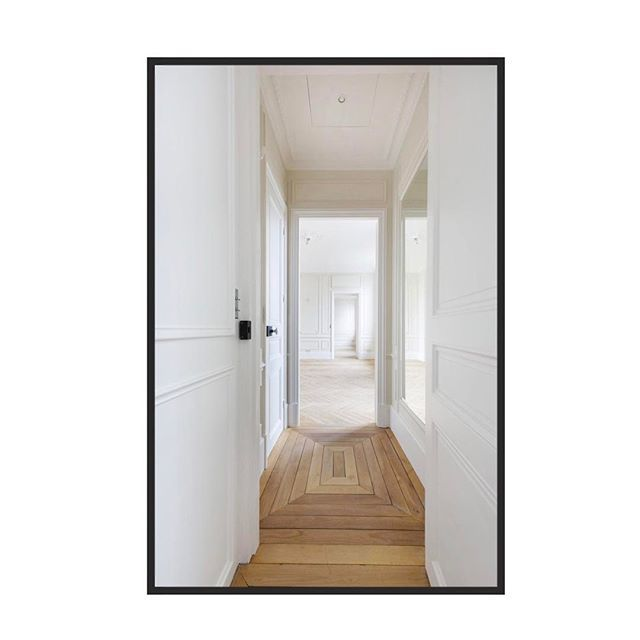 Hallway dreamZzZ : Paris apartment located on Rue de Bac designed by always consistent A+B Kasha