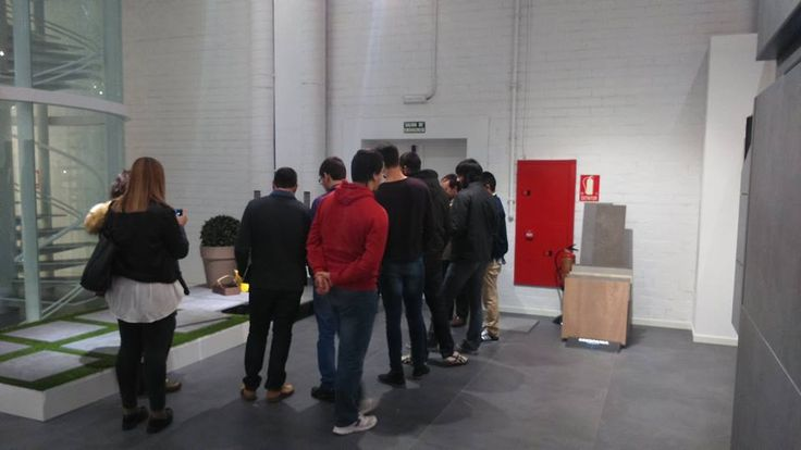 Technical #Architecture students visiting our facilities to meet our full product range. Thank you for visiting us!
