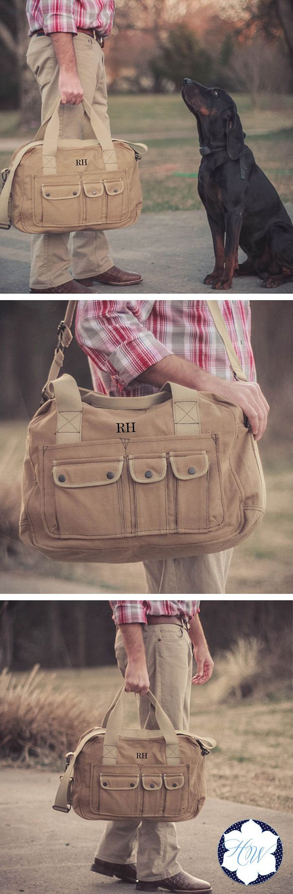 Give your groomsmen a gift they will actually use! This Personalized Vintage Overnight Bag is perfect for an overnight getaway…like a bachelor party maybe!?