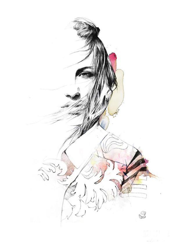 Spiros Halaris   Fashion Illustration
