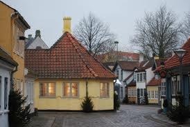 HC Andersen's house, Odense, Denmark