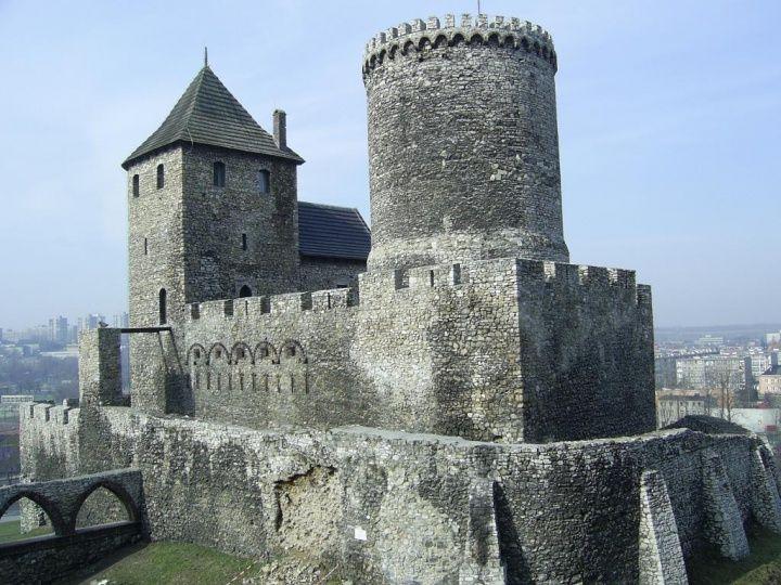 Zamek w Będzinie. Szlak Orlich Gniazd