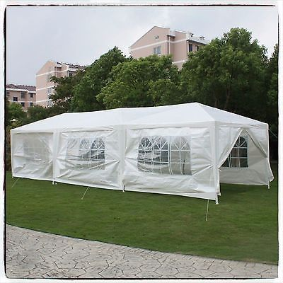 Tent Party Gazebo Canopy Tents White Sidewalls Awnings Wedding Outdoor Gazebos