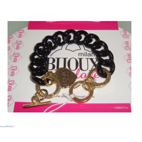 Milano Bijoux Love Bracciale nero fashion 2014  http://www.gioiellivarlotta.it/product.php?id_product=1502