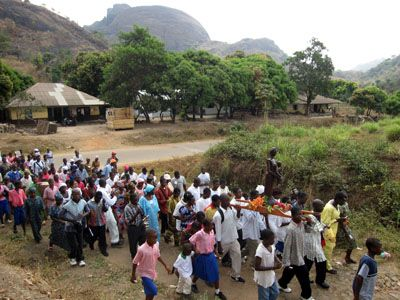 Sierra Leona: Procesion
