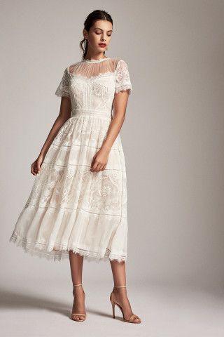 0979de3d606 Tadashi Shoji Camilla Tea-Length Dress