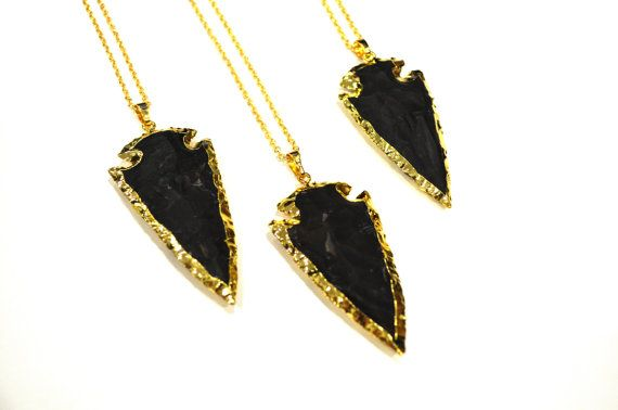 Black onyx statement necklaces to pair with any coloured clothing! These beautiful pendants hang from a 22 inch 14k gold-filled necklace  INFO  >