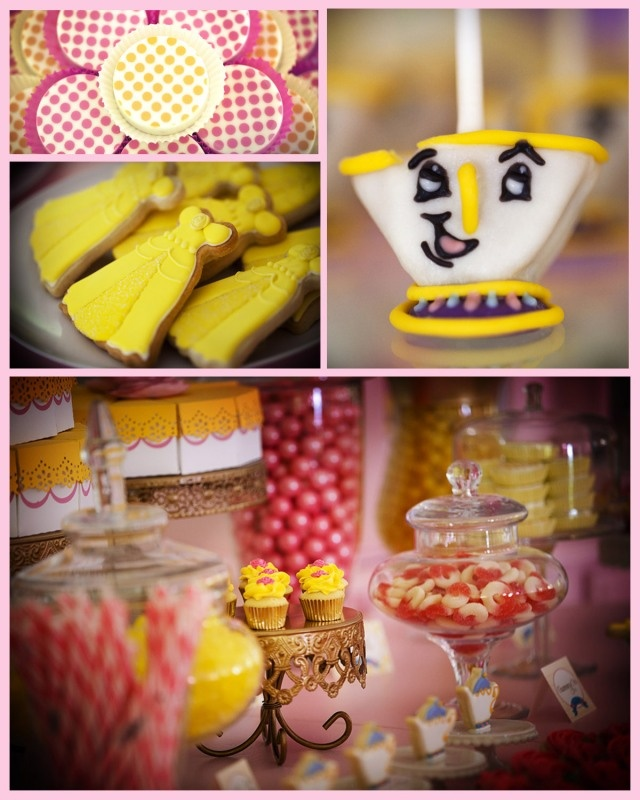 Be Our Guest Princess Belle Birthday Party - @Jenn L Milsaps L Bell with the Mostess