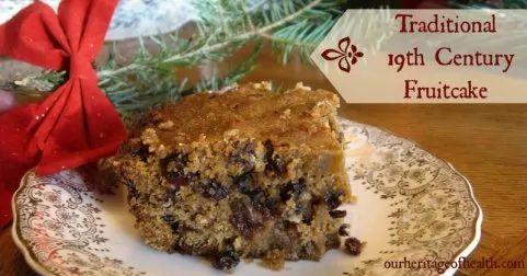 traditional fruit cake recipe