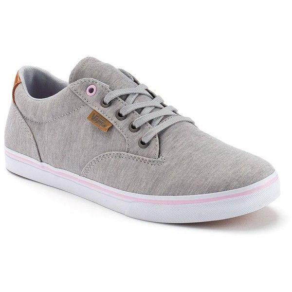 vans skate unisex shoes grey