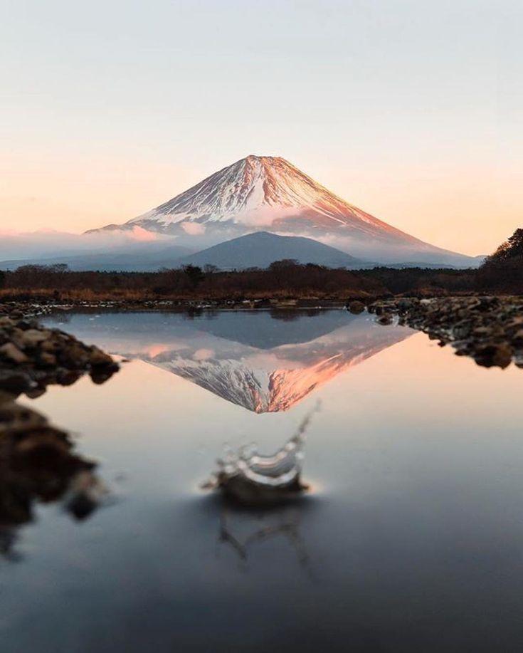Mont Fuji, Japon via @siddharthajoshi / Instagram