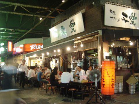 上野のアメ横通りの高架下にある焼鳥が自慢の老舗!!