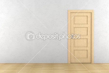 wood door on white wall - Google keresés