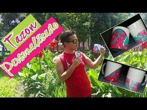 DIY- taza personalizada - Esmalte de uñas. - YouTube