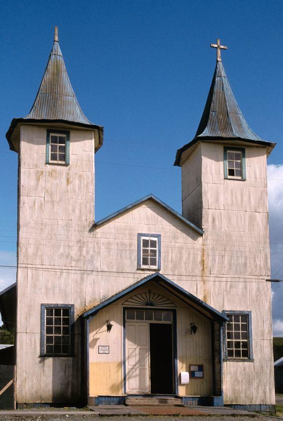 Chiloe' Island, Chile Church in Chacao. © Roberto Soncin Gerometta 2003