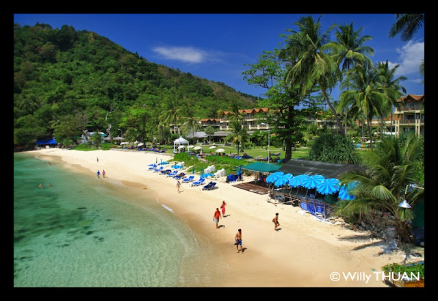 Tri Trang Beach in Phuket, near Patong Beach