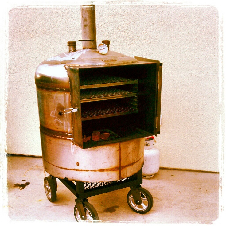 Best Gear SMOKERS IMPROVISED Images On Pinterest Barbecue - 8 diy smokers for enjoying barbeques