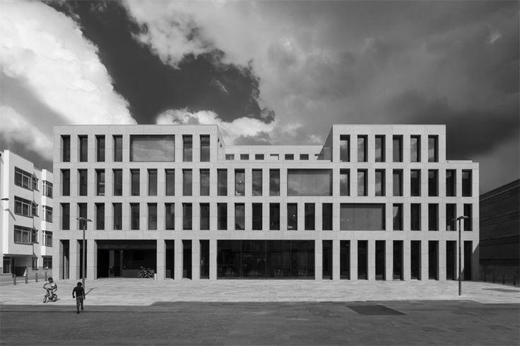 Youth Hostel in Antwerp by Vincent van Duysen. Photo by Koen van Damme.