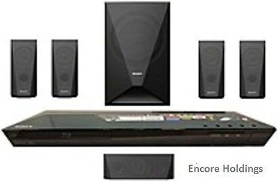 Home Theater Systems: Sony Bdv-E3100 3D Blu-Ray Home Theater System With Wi-Fi - 5.1 Channel - 1000 BUY IT NOW ONLY: $242.72