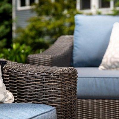 Prime La Z Boy Outdoor New Boston 2Pc Wicker Outdoor Lounge Chair Dailytribune Chair Design For Home Dailytribuneorg