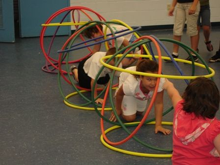 Pin by Cheryl Horner on Color Me Fun Obstacle course ...