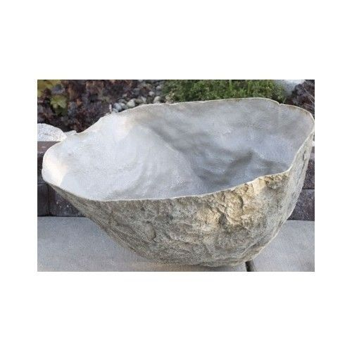 103 best artificial rocks covers images on pinterest for Landscape rock utility cover