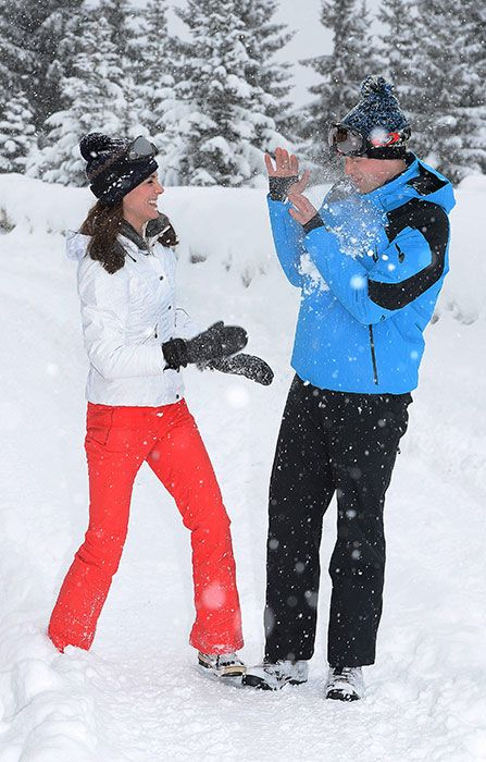 Prince William and Kate take George and Charlotte on first family ski holiday - Photo 4