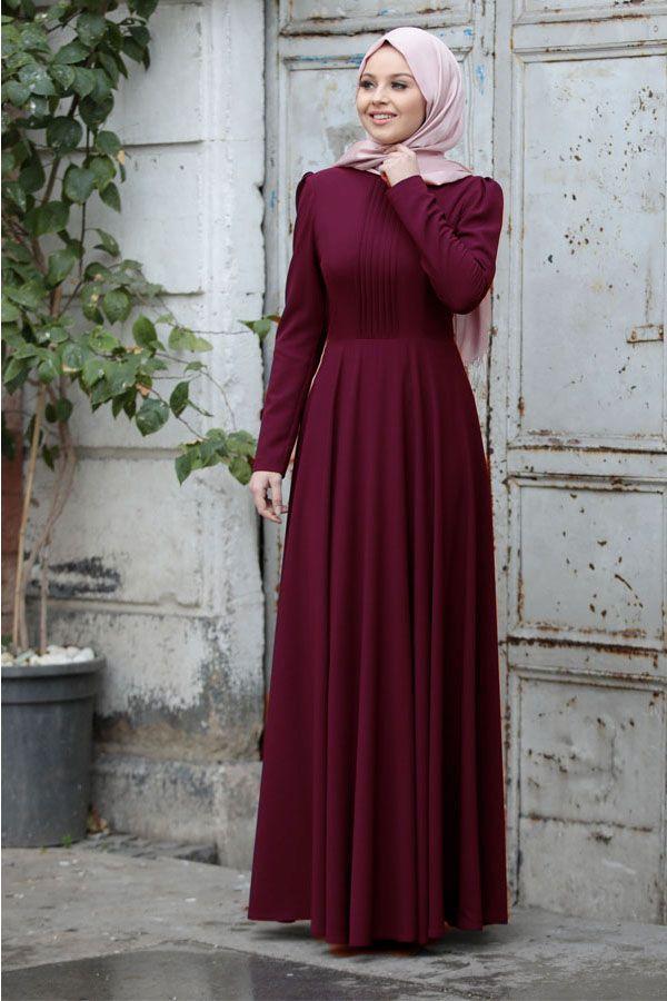 Sade Tesettur Soz Elbisesi Modelleri Moda Tesettur Giyim Moda Stilleri The Dress Giyim