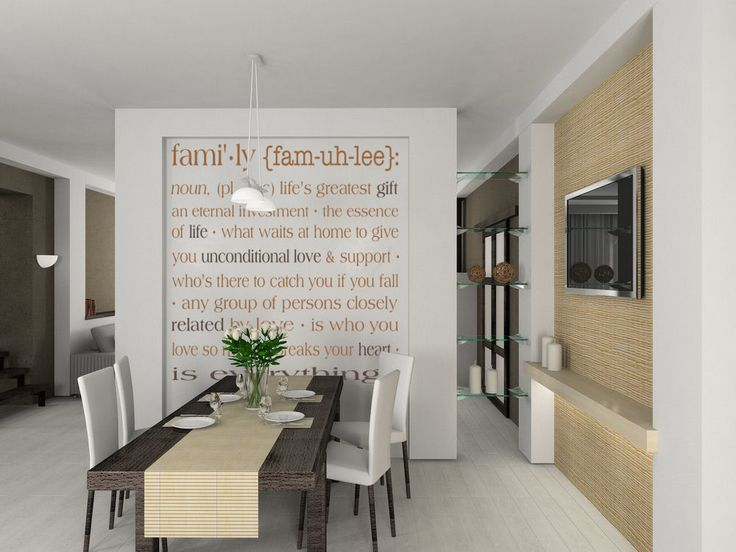 Best Family Words Quotes Images On Pinterest Wall Decals - Wall stickers for dining roomawesome dining room wall decals home design lover