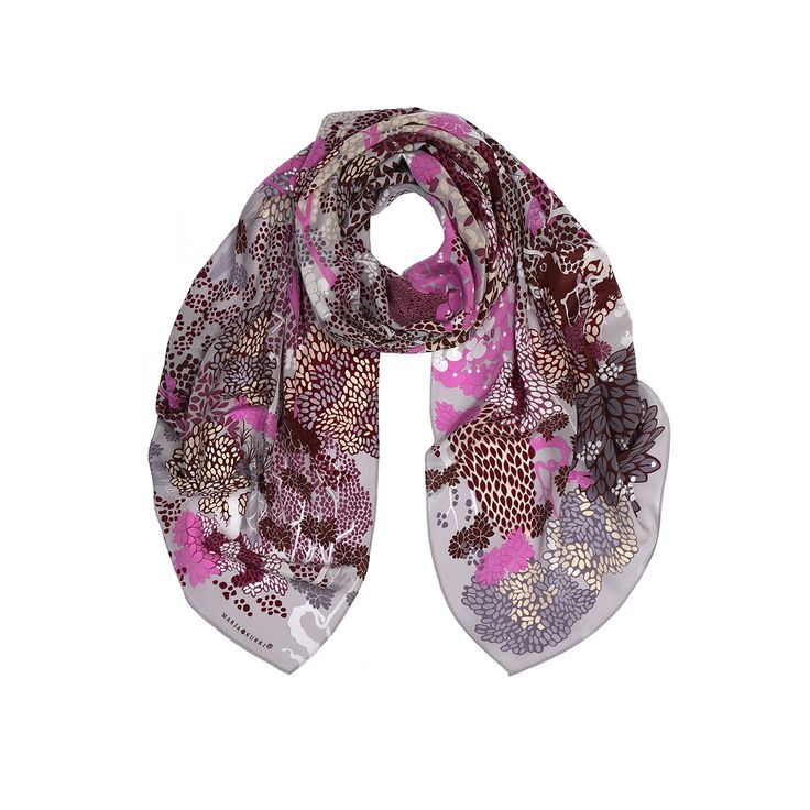 SS16 Two Paths silk scarf